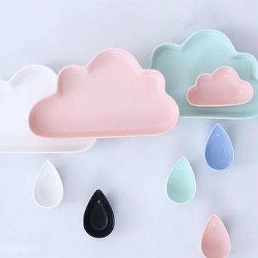 雲と雫の3点セット