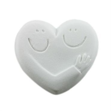 HUG HEART バスソルト     WHITE