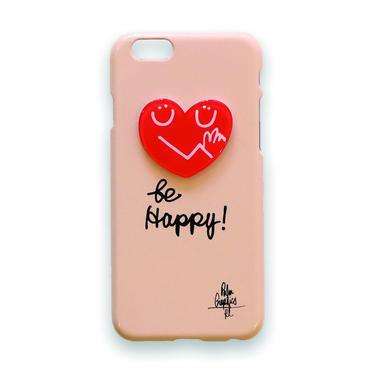 84426 PG i-Phoneカバー Hug Heart