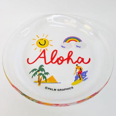 84633 PG グラスプレート L ALOHA