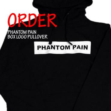 《PHANTOM PAIN BOX LOGO HOODIE》※受注生産※