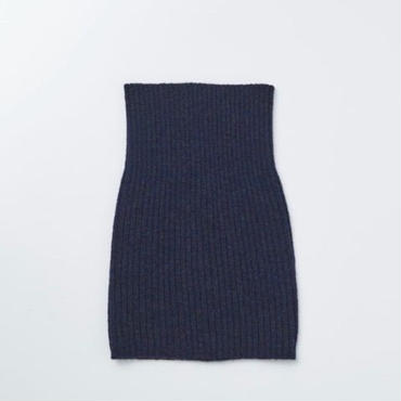 「NECESSARY or UNNECESSARY」NECK WARMER - color / NAVY