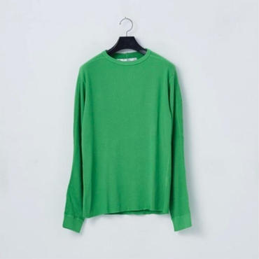 「NECESSARY or UNNECESSARY」WAFFLE / color - GREEN