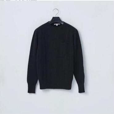 「NECESSARY or UNNECESSARY」3D KNIT - color / BLACK