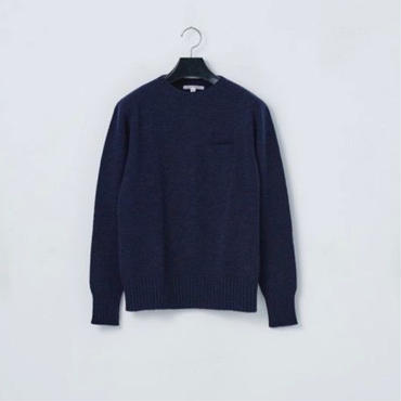 「NECESSARY or UNNECESSARY」3D KNIT - color / NAVY