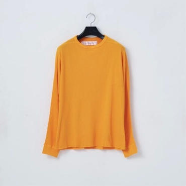 「NECESSARY or UNNECESSARY」WAFFLE / color - YELLOW