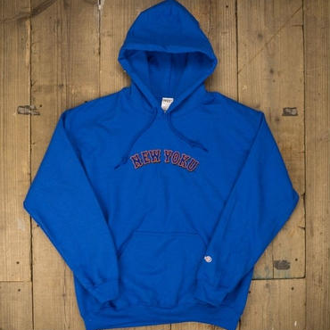 「THE UNIIN」NEW YOKU - LOGO PARKA / color - BLUE