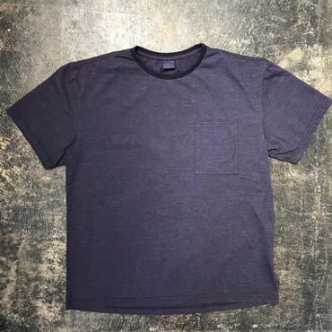 「THE FABRIC」POCKET TEE - color / NAVY