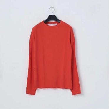 「NECESSARY or UNNECESSARY」WAFFLE / color - RED