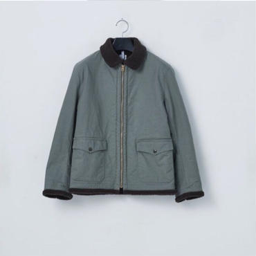 「NECESSARY or UNNECESSARY」BOMBER COTTON / color -GRAY