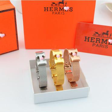 セール 新作 大人気 セレブ レディースノーベルティ HERMES エルメス ブレスレッド HM-JW-01