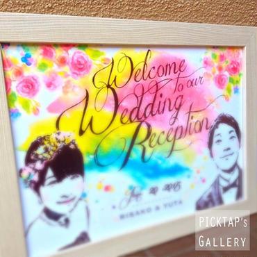 ■picktap's gallery■ヴィンテージ調 A2サイズ<額無し>