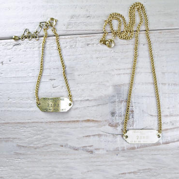 BRASS TAG NECKLACE 02