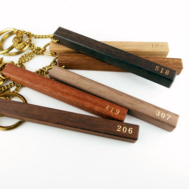WOOD HOTEL KEY-HOLDER 定番数字