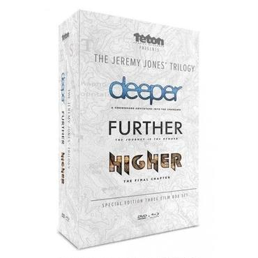 THE JEREMY JONES' TRILOGY -deeper FURTHER HIGHER- (TGR)  DVD