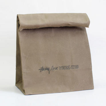 STUSSY Livin' GENERAL STORE   Large Brown Bag