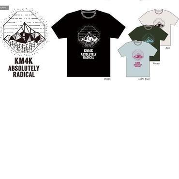 KM4K Tシャツ HAPPY