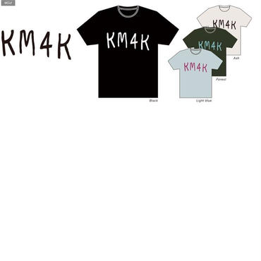 KM4K Tシャツ MOJI