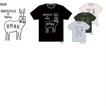 KM4K Tシャツ LOGO