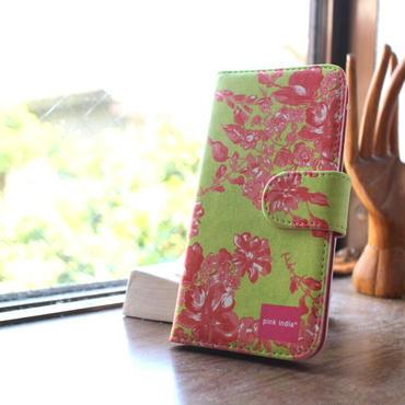 iphone6/6s 用手帳型ケース herbal gardenハーバルガーデン