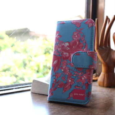 iphone6/6s 用手帳型ケース north blueノースブルー