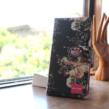 iphone5/5s 用手帳型ケース svea flower