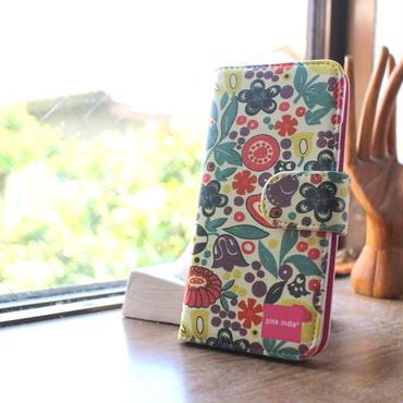 iphone5/5s 用手帳型ケース Tulip