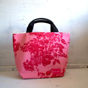 両柄画像通り!reversible bag- stella pink