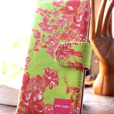 iphone6 plus/6s plus用手帳型ケース Herbal garden
