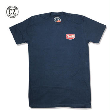 Cycle Zombies(サイクルゾンビーズ)VACANCY Premium S/S T-Shirt ネイビー