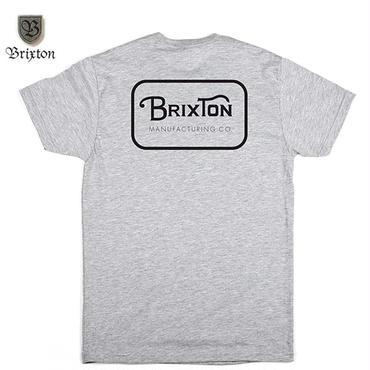 BRIXTON(ブリクストン)GRADE S/S STT グレーxブラック
