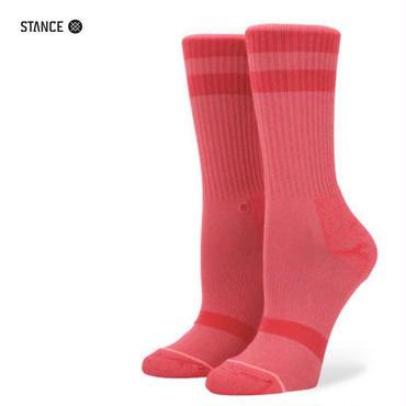 STANCE(スタンス) CLASSIC UNCOMMON CREW RED S(22~24.5cm)