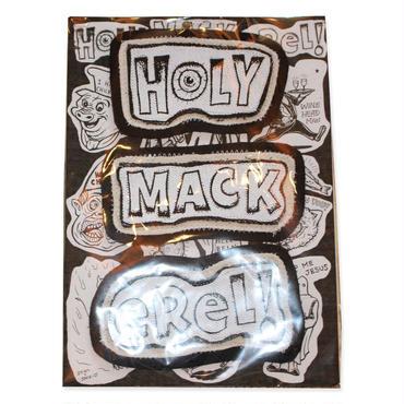おとぼけワッペンHOLY MACKeReL!