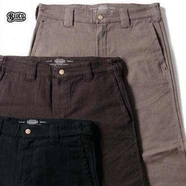 【先行予約!!】BLUCO(ブルコ)OL-063E-018 SLIM WORK PANTS -Strech- 全4色(ブラック・ブラウン・グレー・ネイビー)