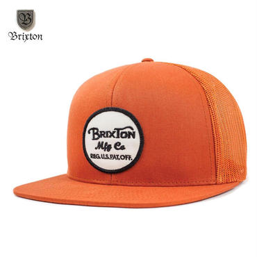 BRIXTON(ブリクストン) WHEELER MESH CAP オレンジ