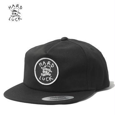 HARD LUCK(ハードラック)OG UNSTRUCTED SNAPBACK CAP ブラック