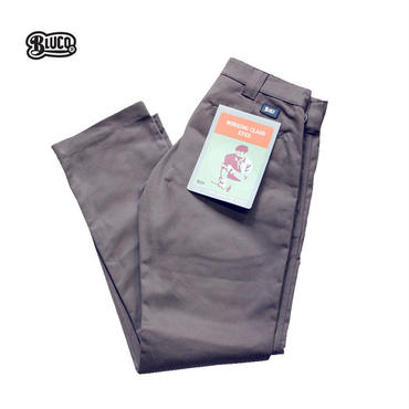BLUCO(ブルコ)OL-063 WORK PANTS SLIM グレー