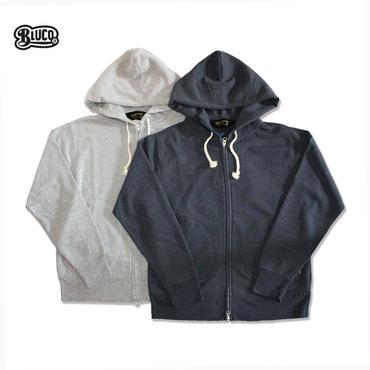 BLUCO(ブルコ ) OL-712 ZIP PARKER 杢ブラック/杢グレー