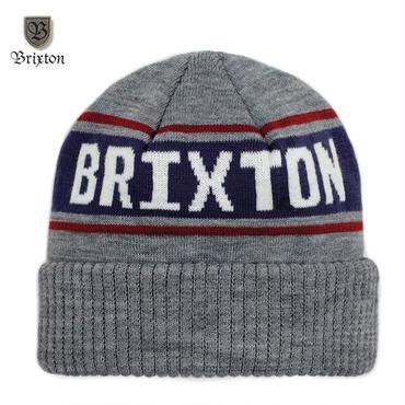 BRIXTON(ブリクストン) CAPITAL BEANIE ライトグレー