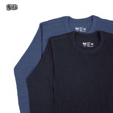 BLUCO(ブルコ) OL-014-16 2PACK THERMAL SHIRTS B-Pack ネイビー/ブラック