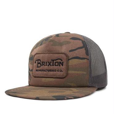 【先行予約!!】BRIXTON(ブリクストン)GRADE MESH CAP CAMO