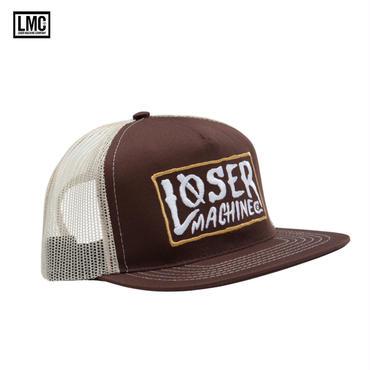 Loser Machine(ルーザーマシーン) LOCKHAVEN メッシュキャップ BROWN