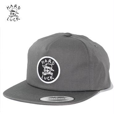 HARD LUCK(ハードラック)OG UNSTRUCTED SNAPBACK CAP グレー