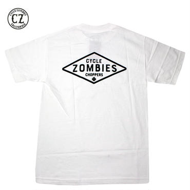 Cycle Zombies(サイクルゾンビーズ)DIY Premium S/S T-Shirt White