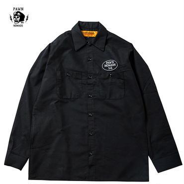PAWN CREW L/S SHIRT ブラック