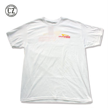 Cycle Zombies(サイクルゾンビーズ)ANIMAL STYLE T-Shirt White