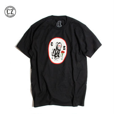 Cycle Zombies(サイクルゾンビーズ) WES LANG OG REAPER Premium S/S T-Shirt Black
