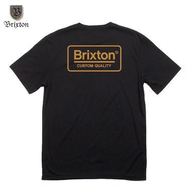 BRIXTON(ブリクストン)PALMER S/S PRT(ASIAN FIT) ブラック