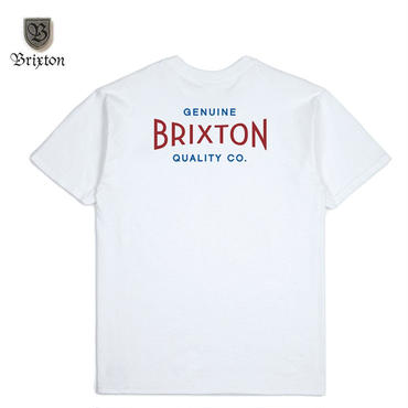 BRIXTON(ブリクストン) CINEMA S/S STT ホワイト