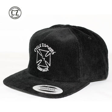 Cycle Zombies(サイクルゾンビーズ) POWERLSIDE Premium Chord SnapBack ブラック